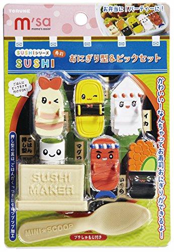 トルネ『SUSHIおにぎり型&ピックセット』