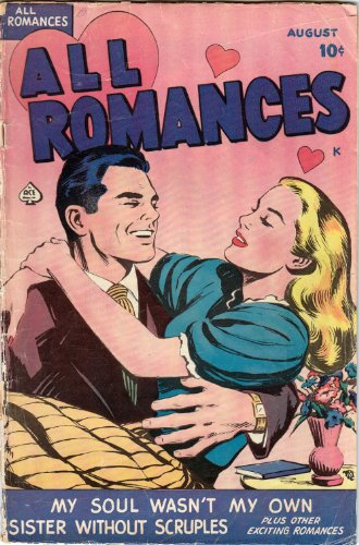 All Romances. My soul wasn't my own, Sister without scruples. (Acer Comics Book 1)