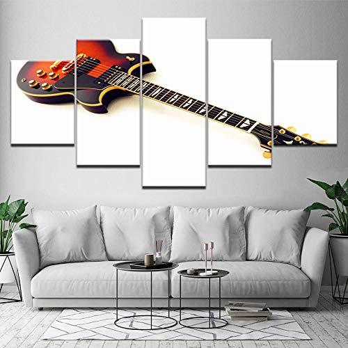 Cuadro Moderno Lienzo Decoración Guitarra eléctrica SG-2000 Cuadro de Pared impresión artística fotografía Imagen gráfica...