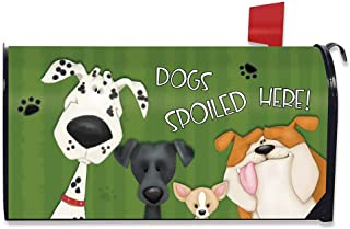 Briarwood Lane Spoiled Dogs Fall Magnetic Mailbox Cover Pets Bulldog Standard