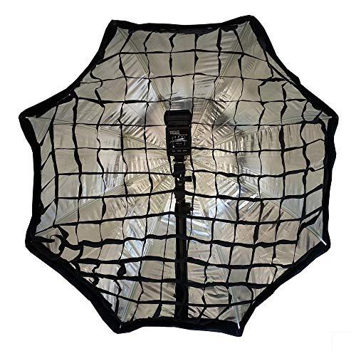 Cablematic – reflecterende afzuigkap, 80 cm, achthoekige softbox, met Honeycomb