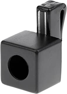 Magnetic Snooker Pool Cue Chalk Holder with Belt Clip - Portable and Convenient