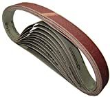 Tools and Hardware 10pcs Sanding Belts (330 x 10mm) 120 Grit Air Finger