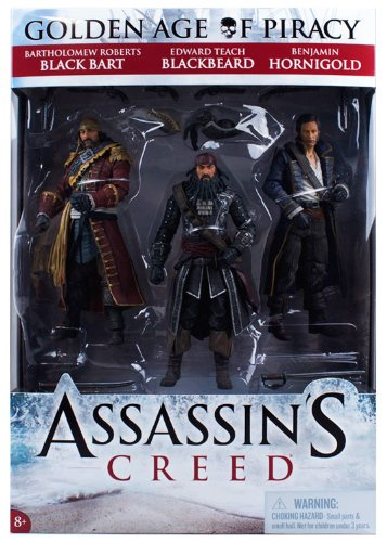 Assassin's Creed Golden Age of Piracy 3-Fig. Pack