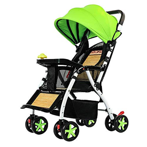 Comfortable and Safe Lightweight Baby Stroller Foldable Umbrella Pushchair One-Hand Easy Fold Compact Pram Best Used for Airplane Car Travel Carries Up to 25kg