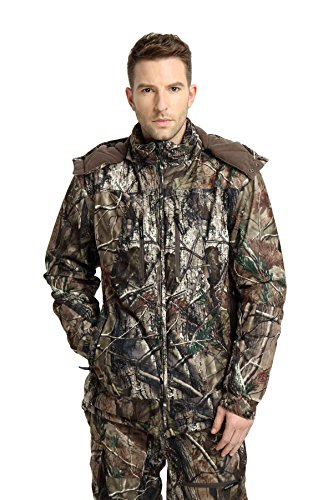Krumba Men's Hunting Waterproof Jacket Camouflage M