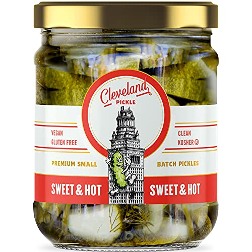 Cleveland Pickle Premium Quality Free shipping anywhere in the nation Sweet Pickles Limited time for free shipping J Ounce 16 Hot