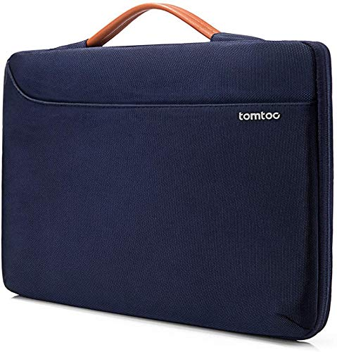 "tomtoc Laptop Sleeve for 15-16 Inch MacBook Pro A2141 A1398, 360 Protective Bag for 15"" Microsoft Surface Book 3/2, Dell XPS 15, The New Razer Blade 15, ThinkPad X1 Extreme Gen 2 15, Accessory Case"
