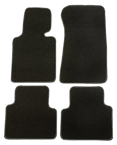 CaTex 30204350600NG Classic Teppich zugeschnitten, schwarz/grau, Set von 4