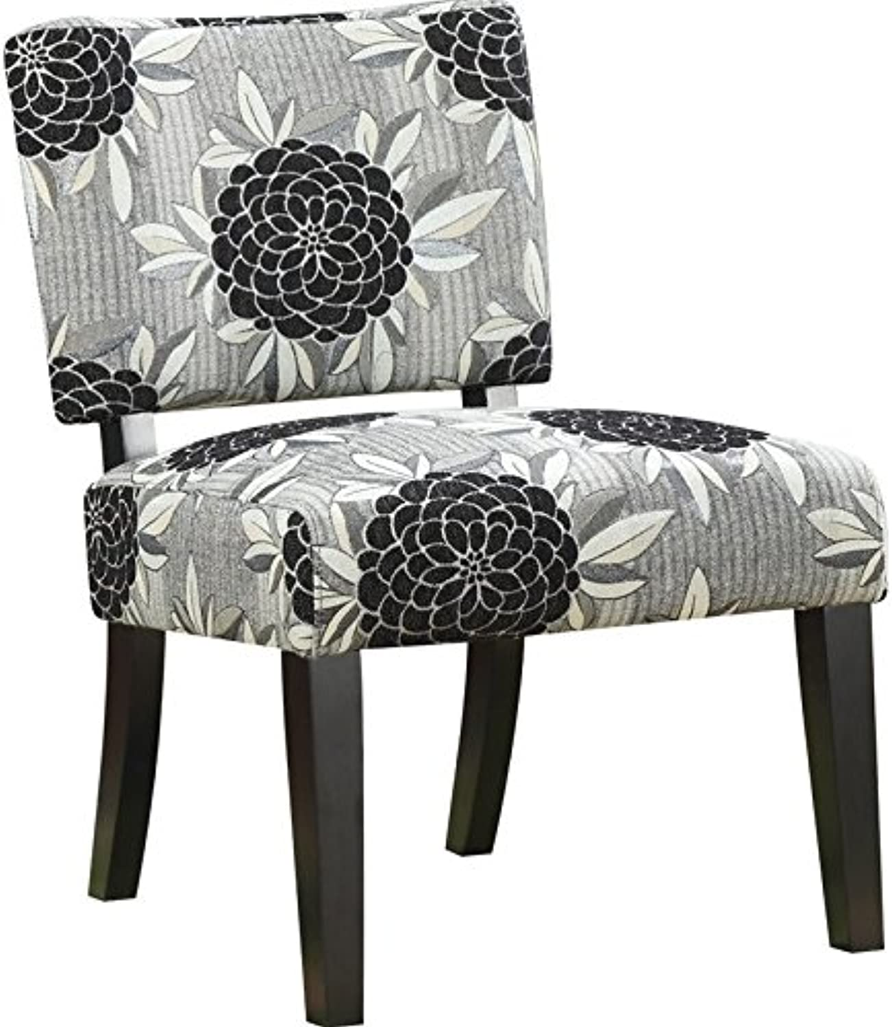 Bowery Hill Chair in Big Flower Motif