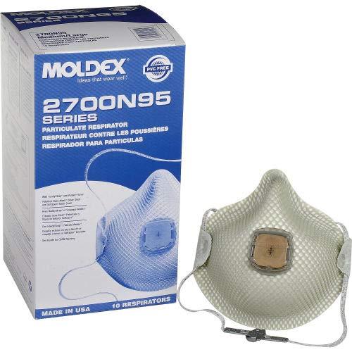 Moldex - Particulate Respirators with HandyStrap / Ventex Vale (10 Pack)