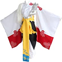 LYLAS Men's Halloween Japanese Kimono Anime Cosplay Costume Outfit