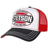Stetson Heritage Best Hats Trucker Cap Damen/Herren - Schirmmütze aus Baumwolle - Schildmütze größenverstellbar - Truckercap mit Mesh-Einsatz - Basecap Curved Brim - Winter/Sommer rot One Size