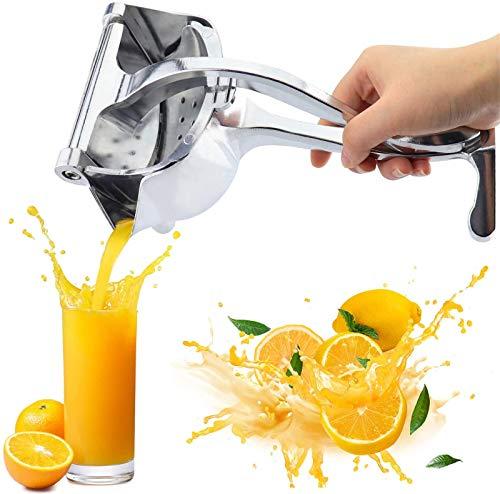 Atecou Hochleistungs-Entsafter aus Aluminiumlegierung,Zitronensaftpresse mit Einer Presse,Zitronensaft mit manueller Presse,Traubensaft,Apfelsaft,Orangensaftsaftpresse