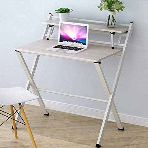 FTFTO Household Products Foldable Table/Foldable/Moveable/Portable Computer Table/Storage Table/Multifunctional Table Desks (Color : C)