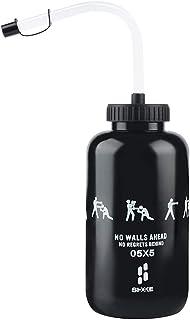 MYD888 Botella De Agua con Pajita Larga Sin Plástico Bpa Botella De Agua 32 Oz 1 Litro Deportes y Ejercicios