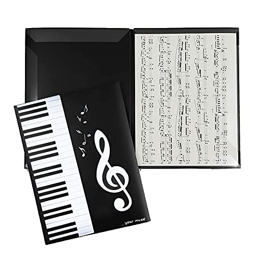 Carpeta de Partituras, Carpeta de Partituras de Música Desplegada A4, Carpeta de...