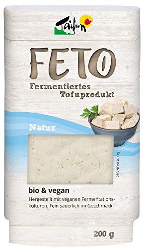 """Taifun Fermentierter Naturtofu """"FETO"""" inkl. Kühlverpackung (200 g) - Bio"""