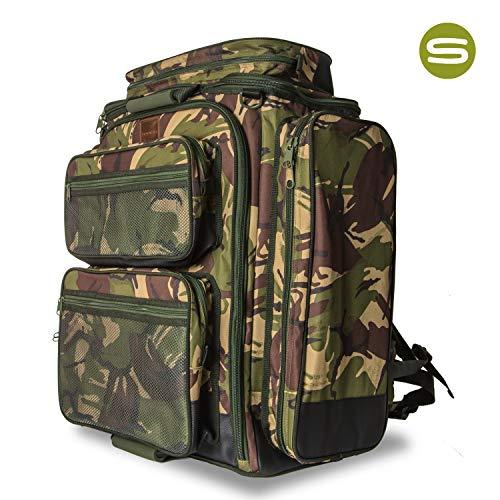 Saber DPM Camo 90ltr Rucksack Carp Fishing Luggage, Camo Carp Rucksack