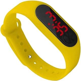 Yihaifu Schermo LED Bambini Sottile da Polso Digitale Fitness Wristband Accessori per la vigilanza Principale vigilanza de...
