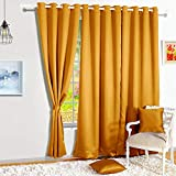 Story@Home Room Darkening Thermal Insulated Eyelet Noice Reducing Blackout Curtain Set of 2