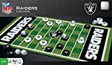 MasterPieces NFL Raiders Checkers Board Game , 13' x 21'