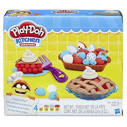 Product Image of the Play-Doh Dough Playful Pies Dough Play Set