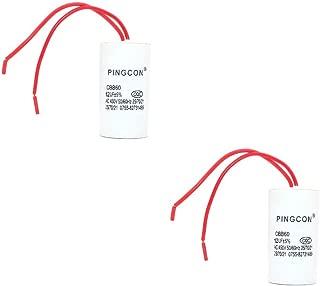 sourcing map AC450V 2.5uF Doule Insert Condensateurs /à Film polypropyl/ène m/étallis/é