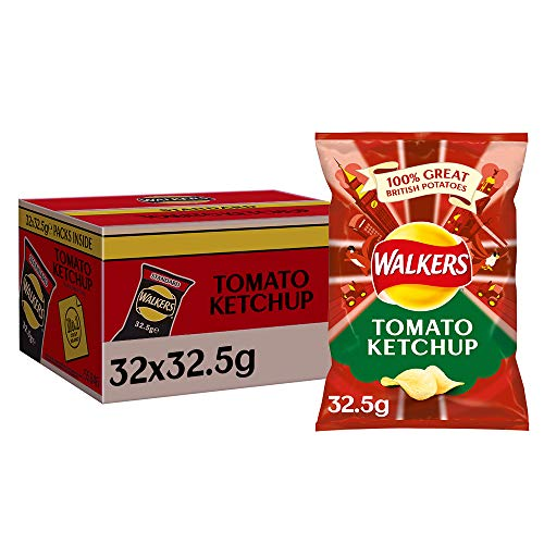 Walkers Crisps Tomato Ketchup 32 x 32,5g