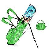 Bolsa de Golf Ligera, Bolsas de Cuero Impermeables para Palos de Golf,...
