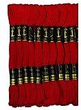 Anchor Cotton Skeins - Embroidery Threads Cross Stitch/Longstitch (0046) 8m x 10 nos