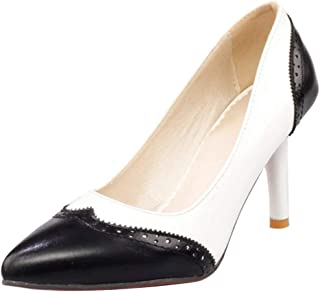 RAZAMAZA Women Fashion Thin Heel Office Court Shoes