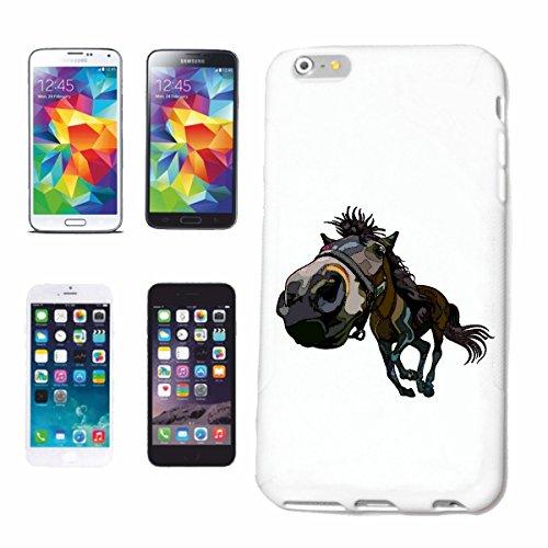 Reifen-Markt Handyhülle kompatibel für iPhone 6S Pferd Vintage Pferde REITEN Reiter Pferdesport Pferdekopf Dressurreiten Rodeo Cowboy Springreiten Reitsport Hengst