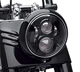Dot Approved 7Inch Black LED Hea...