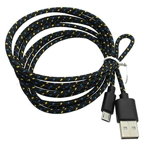 Deet® eReader Ersatz-USB-Kabel, Kindle, Schwarz (für Kindle Paperwhite, Kindle, Kindle touch und Kindle Keyboard) Laden und Daten Kabel, Micro USB