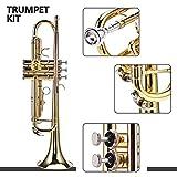 Immagine 1 tromba ottone strumento d oro