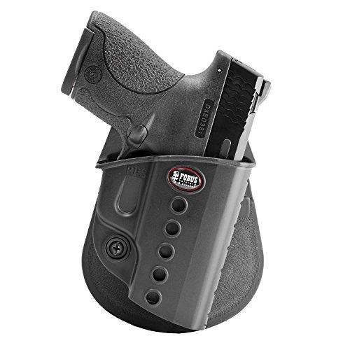 Fobus SWS Evolution - Funda para S&W M&P M2.0 Shield 9 mm & .40, Taurus Slim 708, 709 y 740, Walther PPS 9 mm & .40, CZ97B, Pala de Mano Derecha