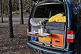 Campingbox mit Küche und Bett