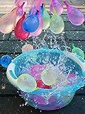 Lim 2823/5000 Juego de 111 Bombas de Agua con Globo Bomba de Agua de Auto-Sellado de llenado rápido Juego de Lucha contra el Agua Summer Splash Diversión para niños y Adultos