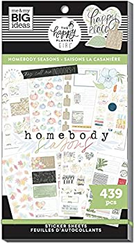 The Happy Planner Girl Happy Place Homebody Seasons Theme Value Pack Stickers 439 Pieces