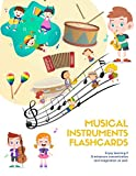 Musical Instruments Flashcards vocabulary for Kids : Flashcards of Musical Instruments for Kids and...