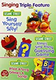 Singing Triple Feature: Sing Yourself Silly/Elmo's Sing-Along Guessing Game/Play-Along Games and Songs