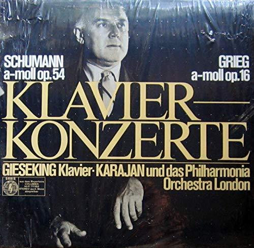 Konzert für Klavier und Orchester a-moll op. 54 / Konzert für Klavier und Orchester a-moll op. 16 / 77 553
