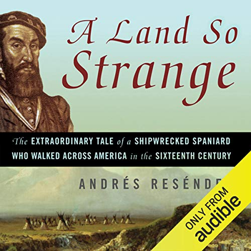 A Land So Strange audiobook cover art