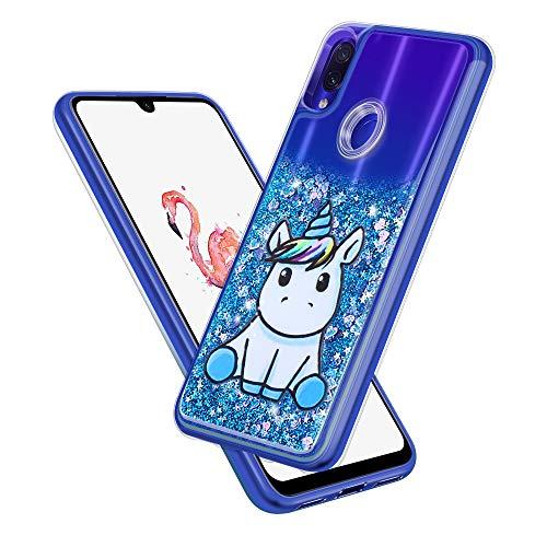 SpiritSun Funda Xiaomi RedMi Note 7 Pro, Carcasa Xiaomi RedMi Note 7 Pro, Transparente Líquido Bumper Tapa Silicona Case...