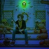 stimmt Halloween-Deko, Halloween Türklingel Animierter Augapfel mit Gruseligen Geräuschen, Halloween-Dekoration für Spuk Haus Party Türen Outdoor - 9