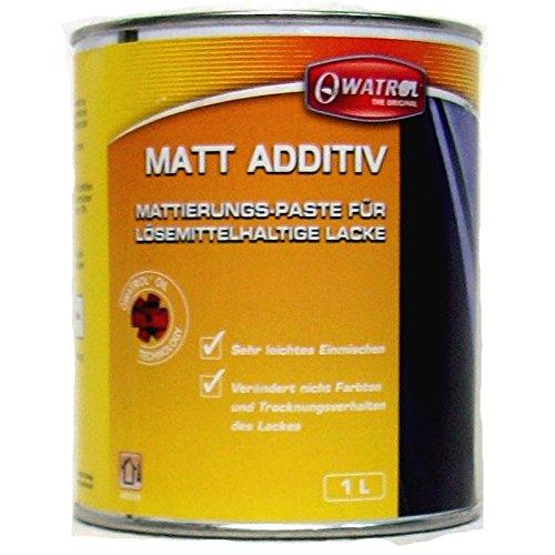 Owatrol - MATT ADDITIV - Mattierung von lösemittelhaltigen Lacken - 1 Liter
