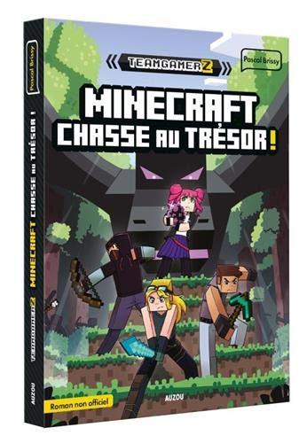 Team gamerz - tome 2 minecraft : chasse au trésor
