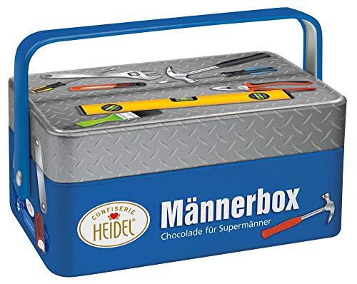 Heidel Männerbox, Chocolade für Supermänner, 86 g