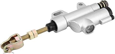 Bomba de freno hidráulico universal para motocicleta, trasera, plegable, cilindro de freno trasero